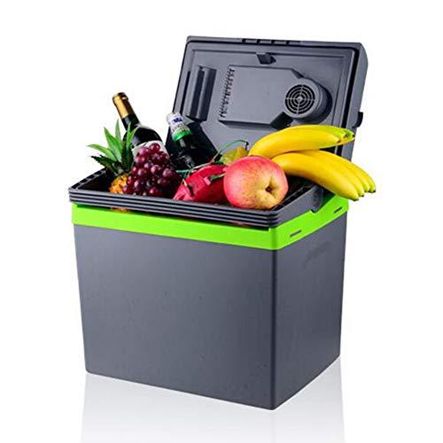 YLEI 25L Mini Auto Kühlschrank, Elektrische Kühlbox 12 V / 220 V, zum Warmhalten und Kühlen, 48W Low Power, ideale Thermobox für das Auto und zum Camping