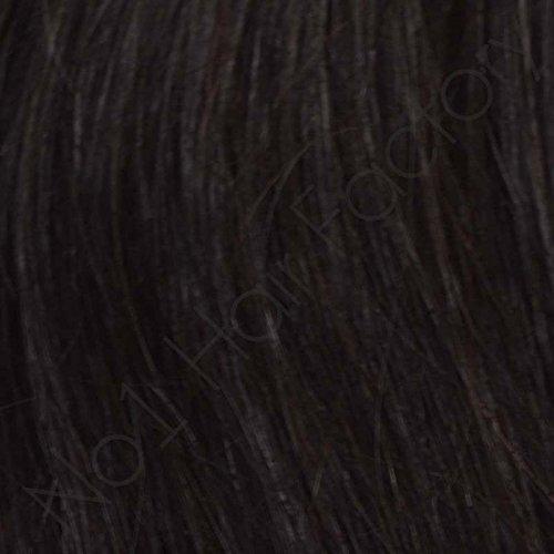 Pré-collé V Pointe Extensions de cheveux Remy indiens 100% OFF 1b # noir