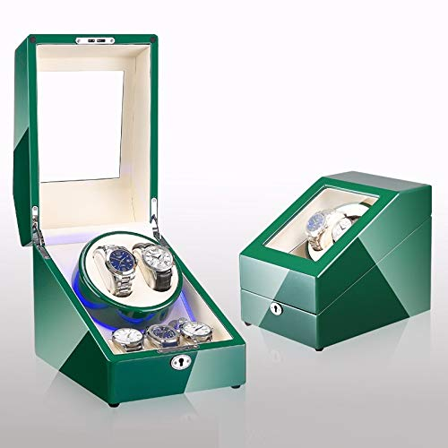 Watch Box Automatic Winding Machine Silent Motor Storage Box Easy to Clean / A6 / 19x26x21.5cm
