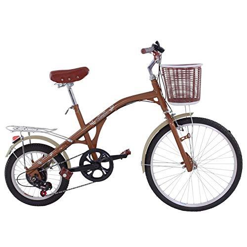 Riscko Bicicleta Retro Adulto Bep-15 Marrón