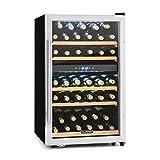 Klarstein Vinamour 40D - Cave à vin, 135L, 2 zones de refroidissement, Commande...