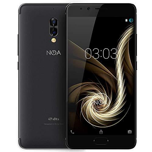 NOA N5 Smartphone 4G LTE ohne Vertrag   Dual SIM   Helio P10 8X Core A53 1.5 GHz   5.5 Zoll HD AMOLED 720 x 1280 Pixel   5000 mAh   32 GB + 3 GB   13 MP + 5 MP Dual Rear Kamera   Black