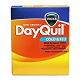 DAYQUIL COLD & FLU NON-DROWSY 2 pk Each ( 25 in a Pack )