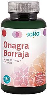 Sakai Onagra y Borraja Complemento Alimenticio - 180 Cápsulas