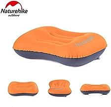 Naturehike Portable Inflatable Pillow Travel One-piece Valve Aeros Pillow Neck Protective Pillow (orange)