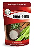Judee's Guar Gum Powder Gluten Free 10 oz (5 & 24 Oz Also) - USA Packaged & Filled - Great for Low-Carb, Keto, & Ice Cream Recipes - Dedicated Gluten & Nut Free Facility