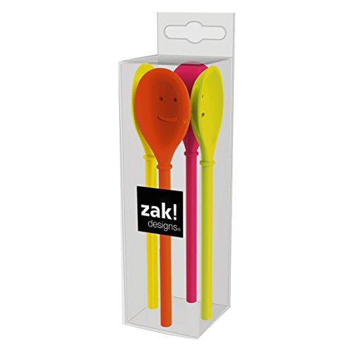 ZAK Happy Löffel 14 cm, 4-er Set, hot pop