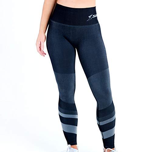 SUPACORE Coretech Kompressions-Leggings für Damen, die weltweit einzige medizinische Qualität, Nahtlose Kompressionskleidung für Sport, Workouts und Erholung (Jacinda Grey, L)