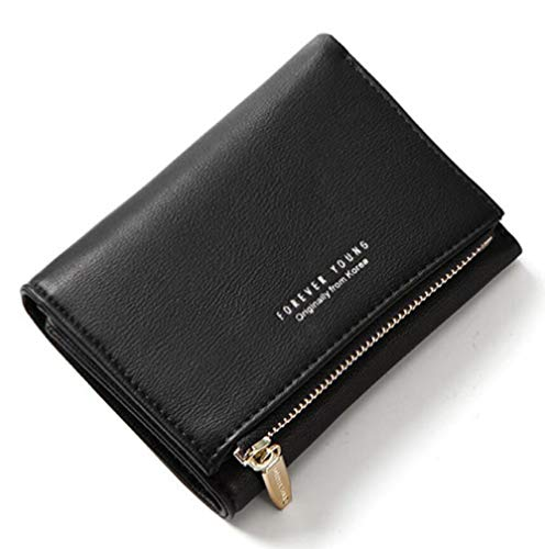 zlyhk lederen tas nieuwe dames portemonnee met rits munt tas kaarthouder groene vrouwen portemonnees mode vrouwelijke korte portemonnee