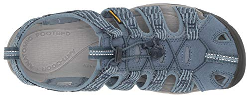 KEEN Women's Clearwater CNX Sandal, Blue Mirage/Citadel, 6.5 M US