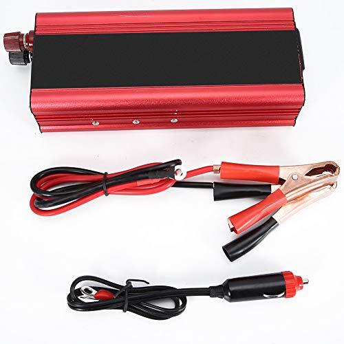 Convertisseur de courant de voiture 6000W universel 12V 24V Convertisseur de courant solaire de voiture 6000W 12V à 220V