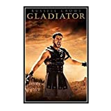 GUICAI The Movie Gladiator Russell Crowe Poster Dekorative