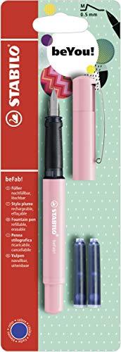 Stabilo beFab! Pastel con 3 cartuchos, color rosa