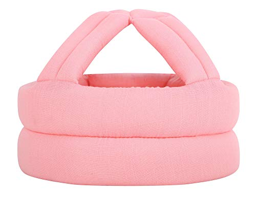 Simplicity Baby Safety Helmet Toddler No Bumps Head Protection Cap Pink