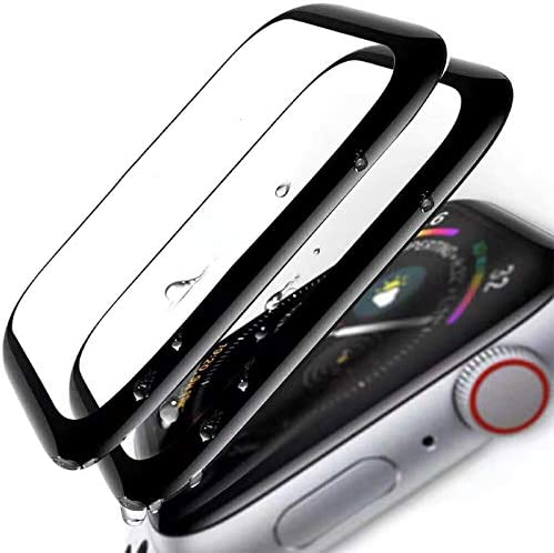 [2 – Pack] for Apple Watch Screen Protector...