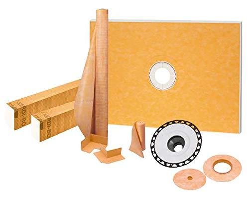 "Schluter Kerdi-Shower Kit 38"" x 60"", ABS Flange (1)"