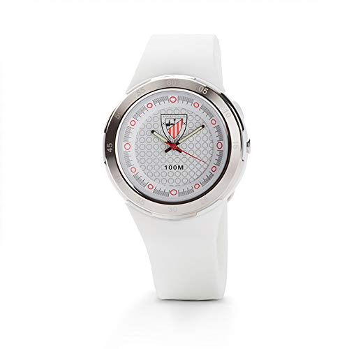 Athletic Club de Bilbao - Reloj analógico cadete RE01AC09 (Blanco)