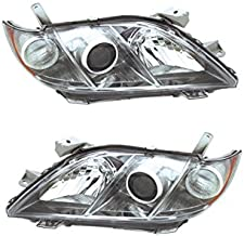 Headlights Headlamps for 07-08 Camry SE Left Right Replacement Set