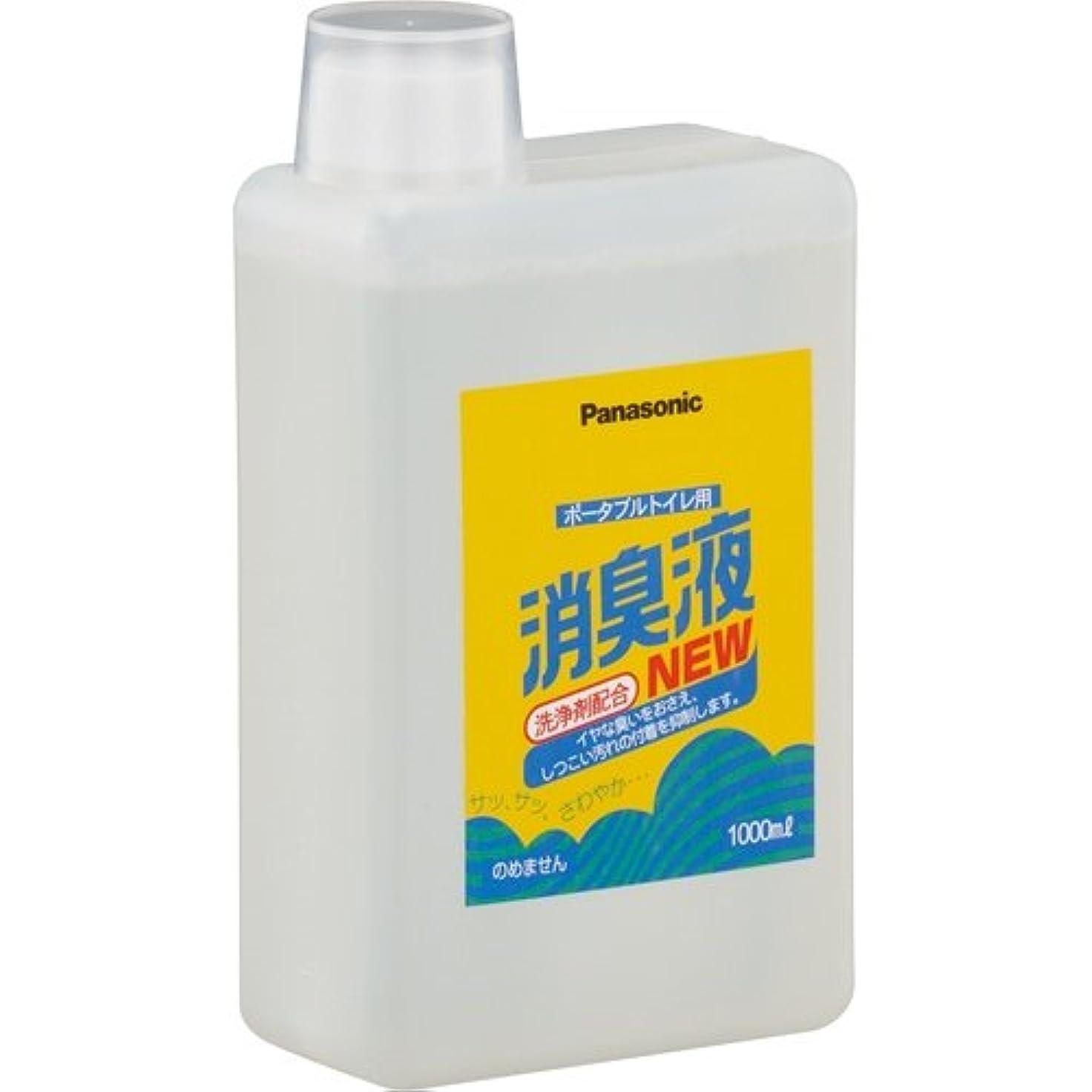 変形する手綱作物パナソニック エイジフリー ポータブルトイレ用消臭液 無色タイプ 1000ml/本 VALTBL1LM 1セット(6本)