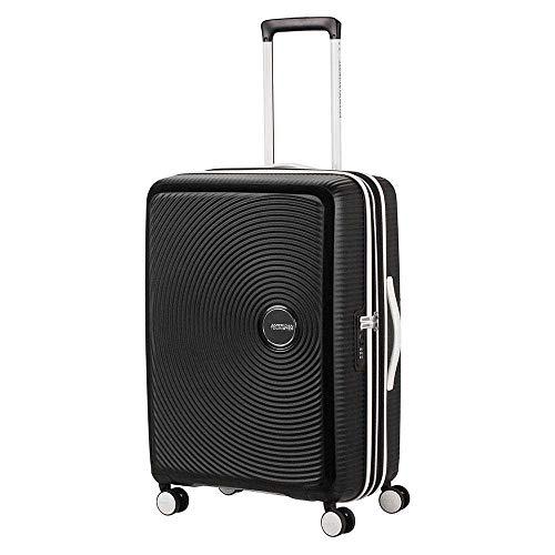 Trolley American Tourister Soundbox Exp Spinner M 32G*002 schwarz/weiß