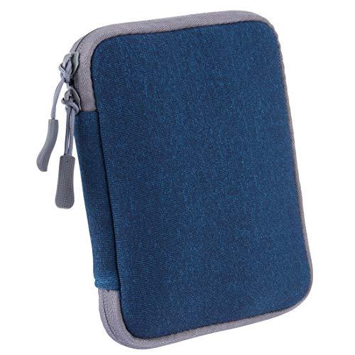 no brand Sac d'ordinateur Portable LMY macbook/Lenovo/Xiaomi ou Autre Chargeur Adaptateur for Ordinateur Portable Sac Universel (Gris) (Couleur : Blue)