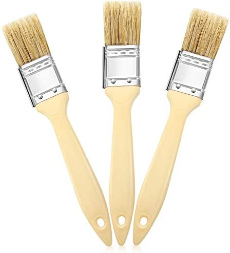 3 Pieces 1 Inch Landscape Brush Oil Based Painting Tools Background Blender Brush Painting Brushes product image