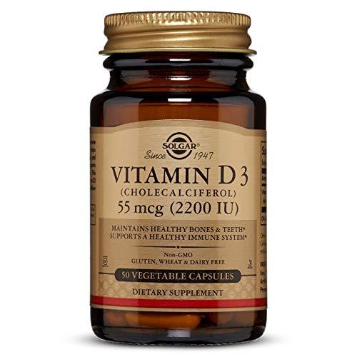Solgar Vitamina D3 (Colecalciferol) 2200 UI (55 µg)...