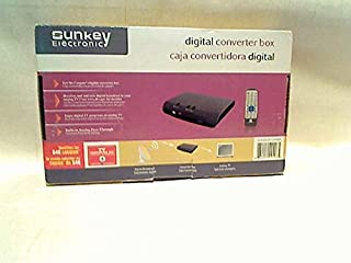 Sunkey SK-801ATSC Digital Converter Box with Analog Pass Through Feature