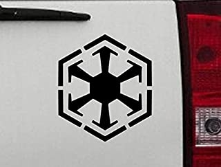 Maxx Graphixx Decal - Star Wars - Sith Empire Logo Vinyl Sticker - Sith Empire Empire Logo Car Decal (6