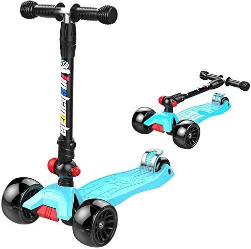 Kick Scooter Für Kleinkinder & Kinder Batterien / 3 Räder Höhenverstellbarer Roller/Grils