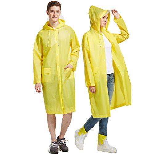 Regenkleding Regenjas EVA Mannen En Vrouwen Milieubescherming Odorless Recycling Mode Pocket Op Voet Klimmen Outdoor Vissen Siamese Reizen Volwassen Poncho Festival Thema Party Comfortabel en ademend