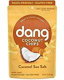 Dang Coconut Chips, Sea Salt Caramel, 3.2 oz, (12 count)