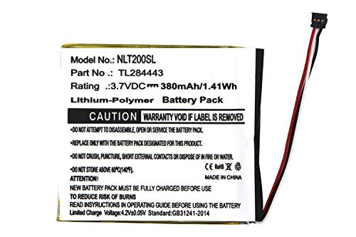 TL284443 Battery Replacement for Nest T3007ES T3008US Learning Thermostat 3rd Generation Learning Thermostat 3rd Gen Learning Thermostat 2nd Generation A0013