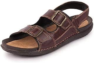 BATA Quovadis Men's Leather Sandals