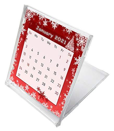 2021 CD-Style Desk Calendar 12 Months Calendar/Planner / (Edition Holidays #01)