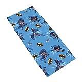 Warner Brothers Batman - Blue, Grey and Yellow Preschool Nap Pad Sheet