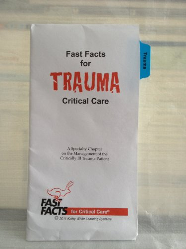 Fast Facts for Trauma Critical Care: A Specialty Chapter on the Management of the Critically Ill Trauma Patient