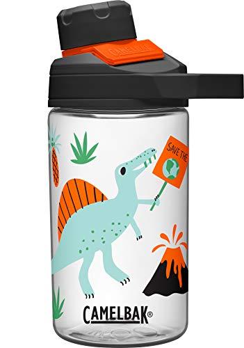 Chute Mag Water Bottle BPA-Free Water Bottle, 14 oz, Dino Activist