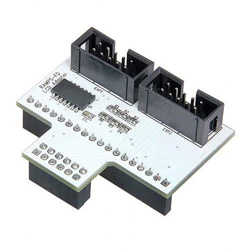 LISUONG Jzff Adaptador de Panel LCD de Impresora 3D AYCT para Ramps-FD