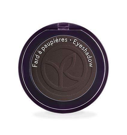 Yves Rocher COULEURS NATURE Lidschatten COULEUR VÉGÉTALE Brun Café mat, einzelner Eyeshadow in Dunkel-Braun, 1 x Dose 2 g