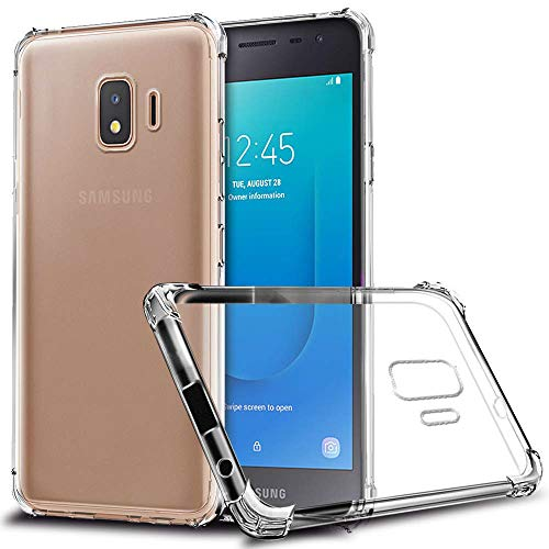 GETE Samsung Galaxy J2 Core 2020 Case,J2 Dash,J2 Shine,J2 Core 2019,J2 Pure,J260 Case, Lightweight Soft Clear Slim Crystal Full Body Protection Phone Cases Cover for Samsung Galaxy J2 Core 5' (Clear)