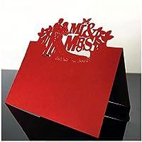Zhangzidong 50ピースレーザーカットMR&MRSテーブル名場所カード好意ゲストメッセージ設定招待カード結婚式イベントパーティー誕生日装飾-2