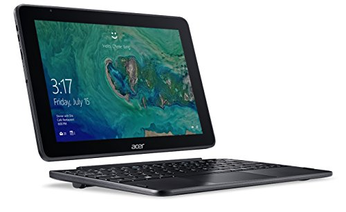 "Acer One 10 S1003-15DN Notebook 2 in 1 con Processore Intel Atom x5-Z8300, Ram 4GB, eMMC 64GB, Display 10.1"" Multi-touch WXGA LCD, Windows 10 Home, Nero"