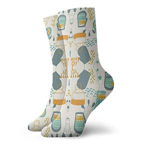Kevin-Shop Guantes Largos Hygge Calcetines de Vestir Calcetines Divertidos Calcetines Locos Calcetines Casuales para niñas Niños