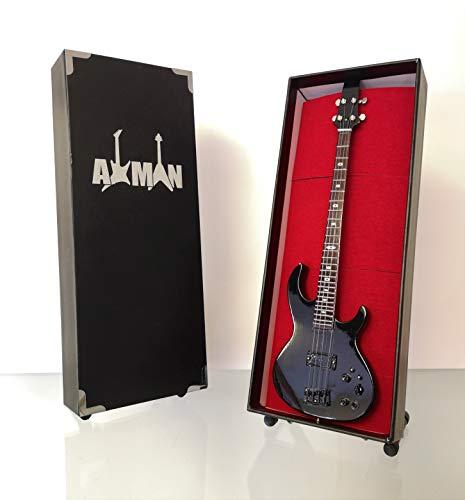 Cliff Burton (Metallica) – ARIA SB-CB Bass: Miniatur-Gitarren-Nachbildung