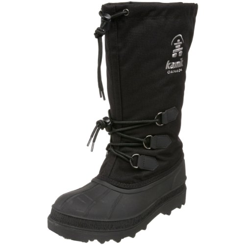 Kamik Women's Canuck Boot,Black,9 M US
