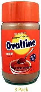 Ovaltine European Formula Malted Drink 14.1 Oz - 400g Bottle(Pack of 3)