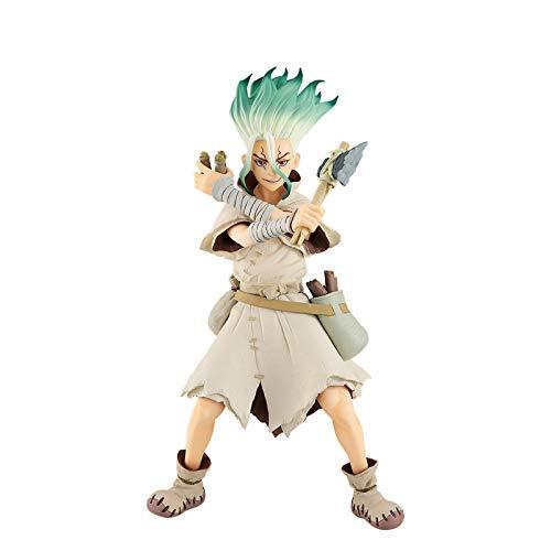 ZH Dr.Stone Figuras De Acción, 17Cm Ishigami Senkuu Estatua De Juguete, Anime Coleccionables Modelo, PVC Ambiental