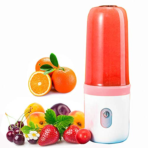 CalmDo Mini licuadora, exprimidor eléctrico, Extractor de Zumo de Frutas