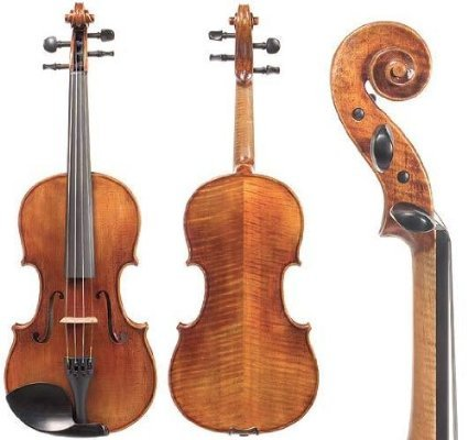 Violin 4/4 Sv.200 By Snow. With Glasser Bow and Core Case.